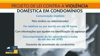 Alerj aprova lei determinando que síndicos comuniquem casos de violência doméstica