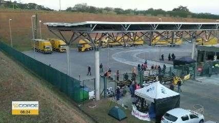 Em greve, trabalhadores dos Correios ocupam Centro de Distribuição em Indaiatuba