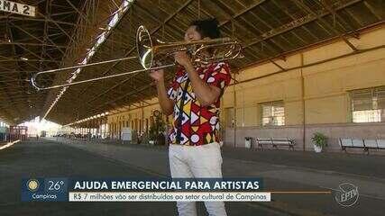 Campinas deve receber R$ 7 milhões do governo federal para ajudar o setor cultural