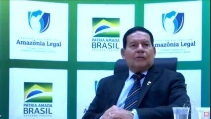 Mourão diz que acordo do Mercosul com União Europeia 'parece que começou a fazer água'