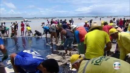 Marinha conclui investigação sobre derramamento de óleo, mas não encontra culpado