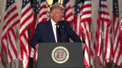 Trump: 'Vamos vencer a guerra pelo 5G e construir a melhor defesa cibernética de mísseis'