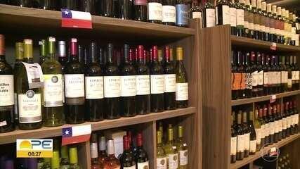Em Petrolina, adegas comemoram aumento de consumo de vinhos