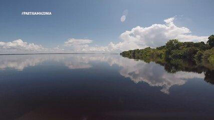 Bloco 02: O 'Partiu Amazônia' foi até a Comunidade do Tumbira. que fica localizado