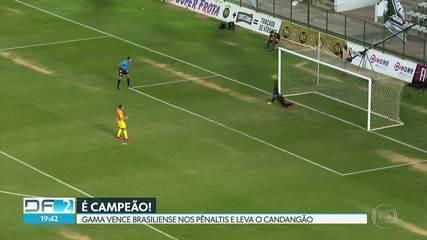 Gama vence nos pênaltis e leva título do Candangão pela 13ª vez