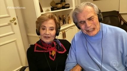 Glória Menezes e Tarcísio Meira falam sobre os 56 anos de casados