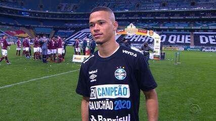 Darlan fala após título do do Campeonato Gaúcho 2020