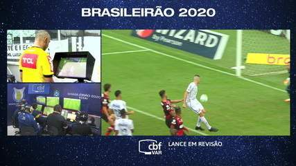 Melhores momentos de Santos 0 x 1 Flamengo pela 6ª rodada do Campeonato Brasileiro 2020