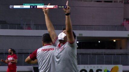 Como visitante, CRB vence o clássico contra o CSA, pela 6ª rodada da Série B do Brasileiro