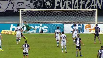 Melhores momentos: Botafogo 0 x 0 Coritiba pela 7ª rodada do Brasileirão 2020