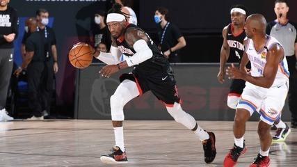 Com toco de Harden no fim, Rockets vencem Thunder por dois pontos e vão à  semifinal do Oeste | nba | ge