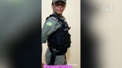 """Policiais do Piauí são investigadas por vídeo com """"desafio da internet"""" usando farda"""