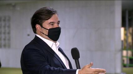 Maia: 'Paulo Guedes tem proibido a equipe econômica de conversar comigo'