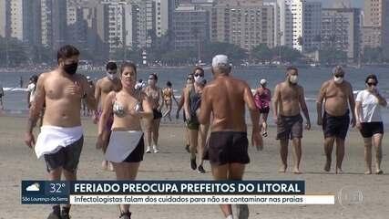 Feriado preocupa prefeitos do litoral