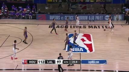 Melhores momentos: Los Angeles Lakers 97 x 112 Houston Rockets, pela NBA