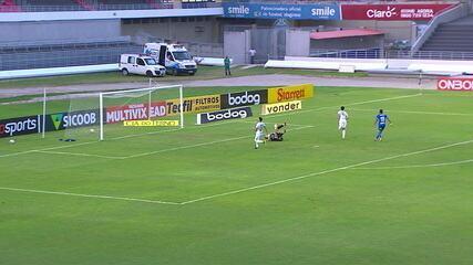 Os gols de CSA 1 x 1 Confiança, pela 8ª rodada do Brasileiro