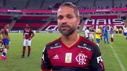 """Diego fala sobre momento atual do Flamengo: """"Muito trabalho e paciência"""""""
