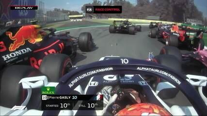GP da Itália: Confira o replay da largada