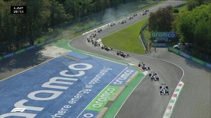 GP da Itália: Veja a segunda relargada da prova