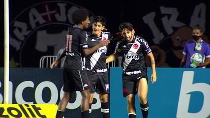 O gol de Vasco 1 x 0 Athletico-PR pela 8ª rodada do Brasileirão 2020
