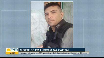Policial militar e jovem de 19 anos são mortos a tiros em João Pessoa