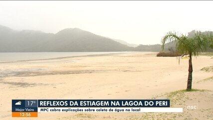 MPC cobra explicações sobre coleta de água na Lagoa do Peri em Florianópolis