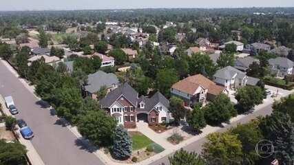 Denver, nos EUA, vai de calor recorde para alerta de nevasca em 2 dias