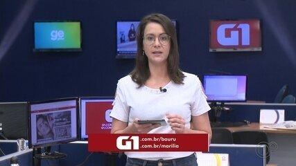 Confira os destaques do G1 Bauru e Marília desta terça-feira, 8