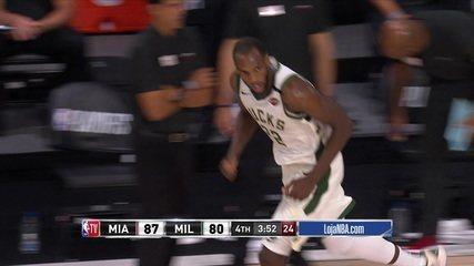 Melhores momentos: Milwaukee Bucks 94 x 103 Miami Heat, pela NBA