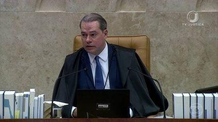 Dias Toffoli deixou a presidência do STF em setembro; relembre homenagens ao ministro