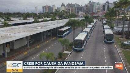 Prefeitura de Florianópolis adiantará subsídio mensal para empresas de ônibus