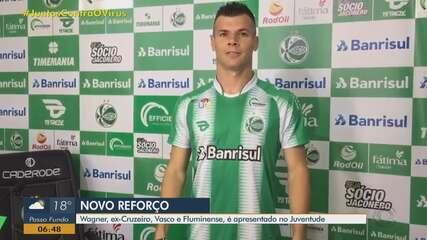 Ex Vasco Fluminense E Cruzeiro Wagner E Apresentado Como Reforco Do Juventude Juventude Ge