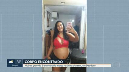 Mulher grávida é encontrada morta na linha do trem, em Deodoro