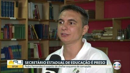 Secretário Estadual de Educação Pedro Fernandes é preso em operação do MP