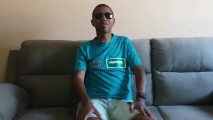 """""""Se eu não estivesse na AMU, não teria aprendido várias coisas"""", pontua Paulo Henrique. Vídeo: Arquivo pessoal"""