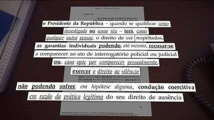 Em setembro, Bolsonaro e AGU se reuniram para tratar de estratégias para eventual depoimento