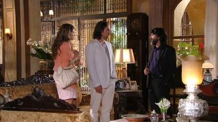Dom Rafael inventa mentiras para Ester sobre Cassiano