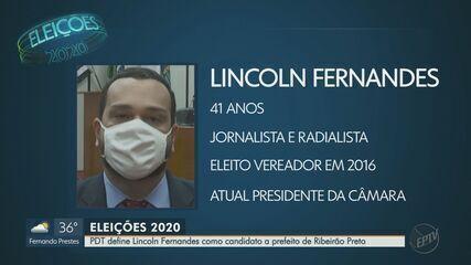 PDT oficializa candidatura de Lincoln Fernandes à Prefeitura de Ribeirão Preto, SP