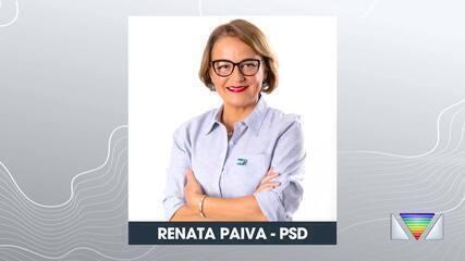Renata Paiva concorre à prefeitura em São José.