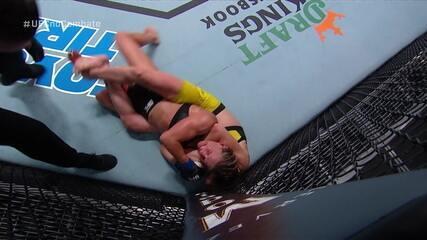 Melhores momentos de Sabina Mazo x Justine Kish no UFC Waterson x Hill