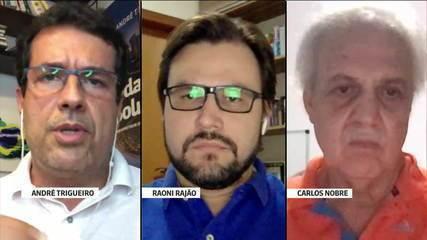 André Treguero habla sobre incendios forestales con los especialistas Carlos Nobre y Ronnie Rajão
