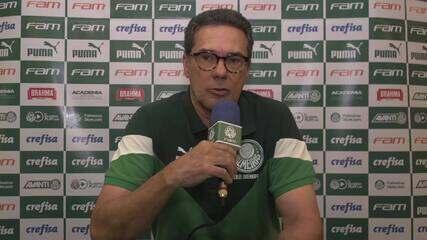 Confira a coletiva de Luxemburgo, técnico do Palmeiras, após empate com o Sport