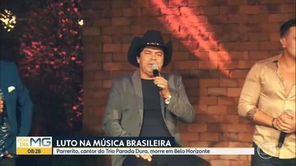 Parrerito, cantor do Trio Parada Dura, morre em BH