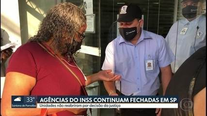 Agências do INSS amanhecem fechadas em São Paulo por decisão da justiça