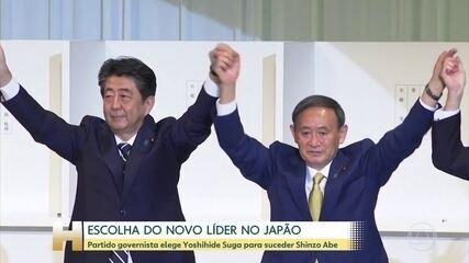 Yoshihide Suga deve ser o novo primeiro-ministro do Japão