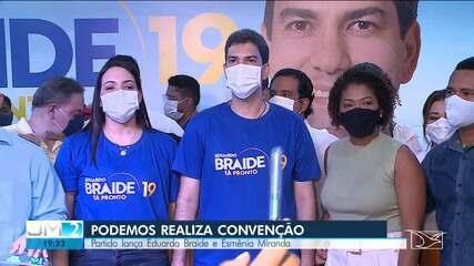 PODEMOS realiza convenção em São Luís