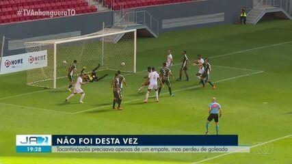 TEC é goleado pelo Brasiliense e fica de fora da fase de grupos da Série D