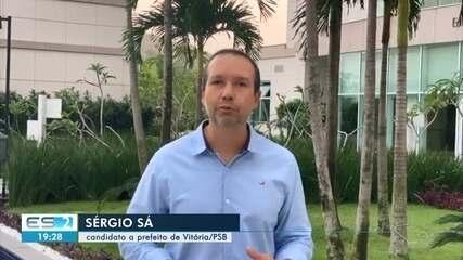 PSB oficializa candidatura de Sergio Sá à Prefeitura de Vitória