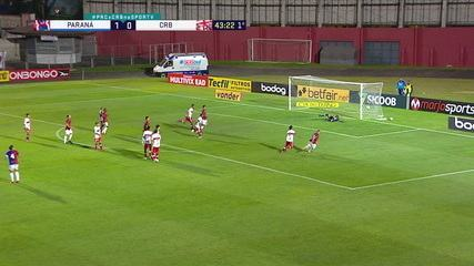 Melhores momentos de Paraná 2 x 0 CRB, pela 10ª rodada do Campeonato Brasileiro Série B