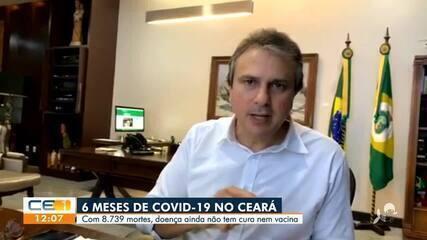 Pandemia completa seis meses no Ceará com 8,7 mil mortos